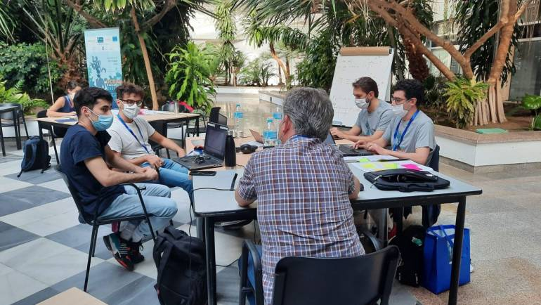 UCA Datalab members win the third prize in Cadiz Ocean Hackathon 2020