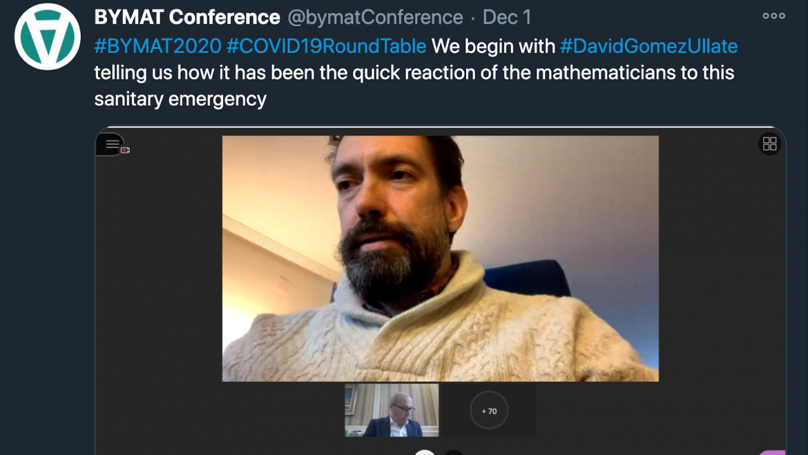 Round table on the role of mathematics in managing the COVID19 crisis at the 3rd BYMAT conference